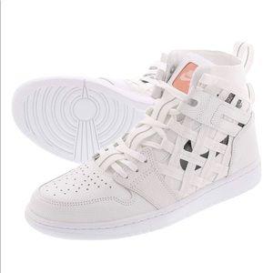 Nike Air Jordan 1 Cargo Mens Size 10.5 White/BLack